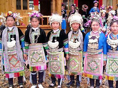 Costumes of Ethnic Minorities | Chinese Fashion Clothing